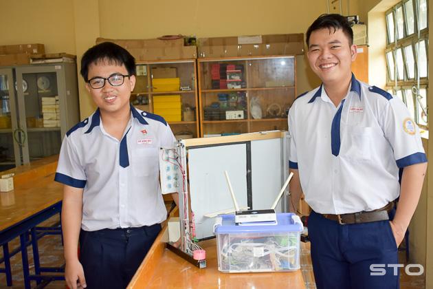 Học sinh Trường THPT chuyên Nguyễn Thị Minh Khai đạt giải cao tại Cuộc thi Khoa học kỹ thuật cấp quốc gia