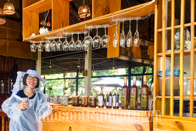 Điểm đến Homestay chợ nổi Ngã Năm thuộc cụm du lịch cộng đồng ấp Phương An 3, xã Hưng Phú, huyện Mỹ Tú. Ảnh: CHÍ BẢO